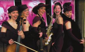 Dresdner Salondamen - Musik der 20er, 30er und 40er @ KKT Bad Wildbad, Theatersaal | Bad Wildbad | Baden-Württemberg | Deutschland