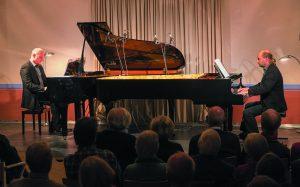 Grenzgänger -zwei Pianisten -zwei Flügel @ Königliches Kurtheater | Bad Wildbad | Baden-Württemberg | Deutschland