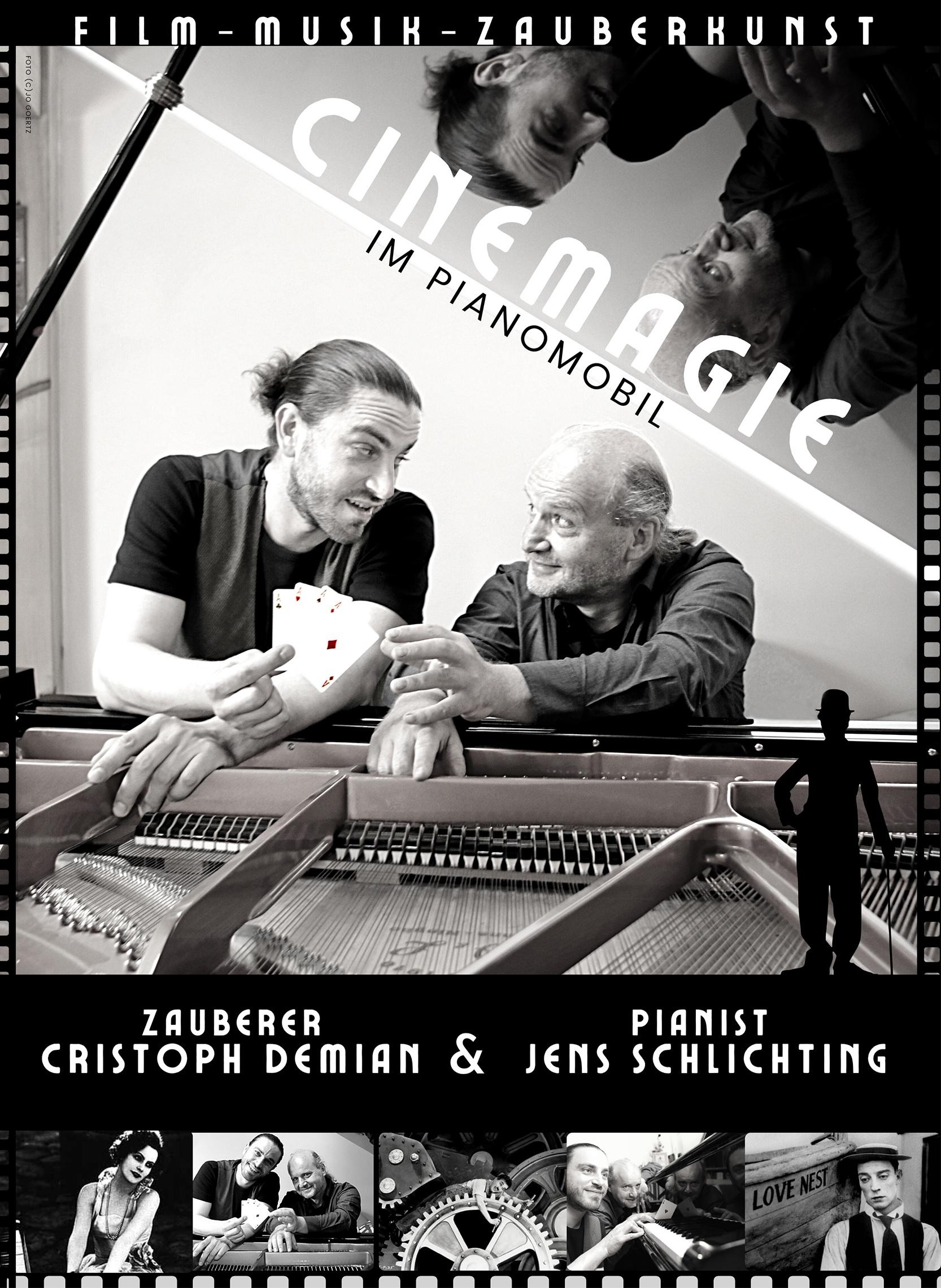 Cinemagie im PianoMobil